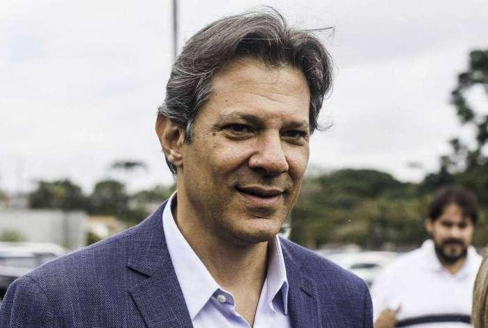 Fernando Haddad, candidato à Presidência da República pelo Partido dos Trabalhadores
