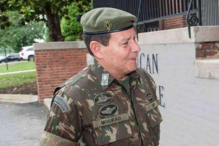 General Hamilton Mourão, vice-presidente do candidato à Presidência da República Jair Bolsonaro (PSL)