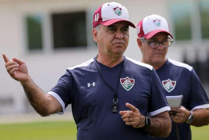 Marcelo Oliveira vem tendo o trabalho muito questionado pela torcida: time não faz gol há cinco jogos