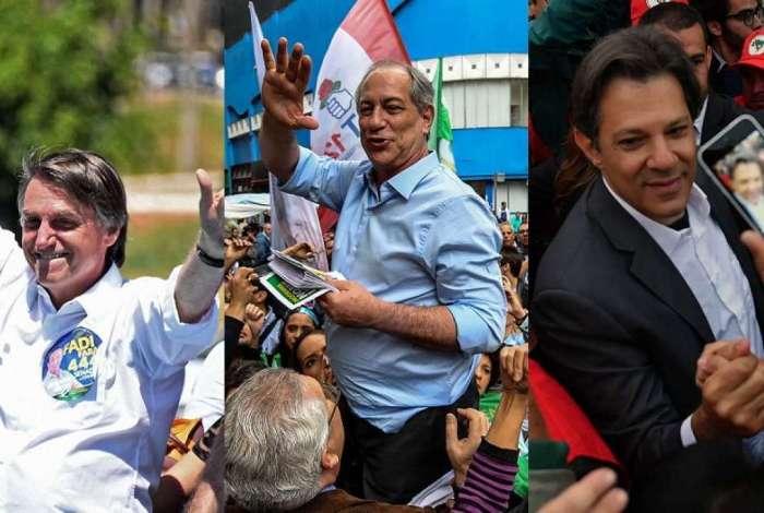 Ciro e Bolsonaro lideram assuntos mais comentados do Twitter na véspera do primeiro turno. Haddad não aparece entre os assuntos mais comentados