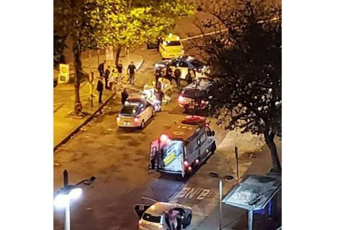 Duas pessoas foram baleadas durante a madrugada, na Tijuca