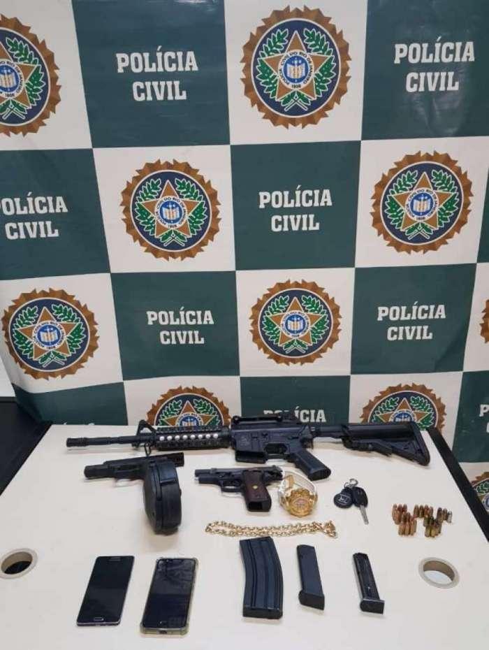 Suspeitos de integrar milícia foram presos em Mesquita