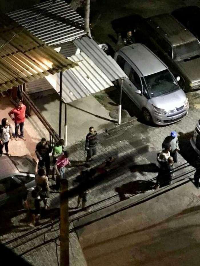 A vítima foi atingida na Ladeira Ary Barroso