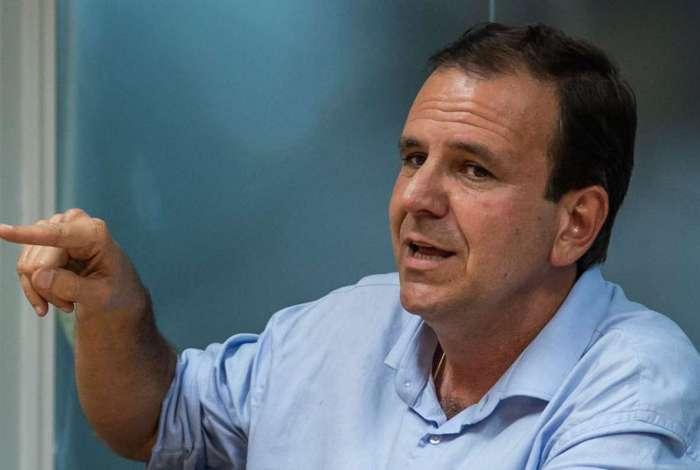 Eduardo Paes é candidato ao governo do Rio pelo DEM