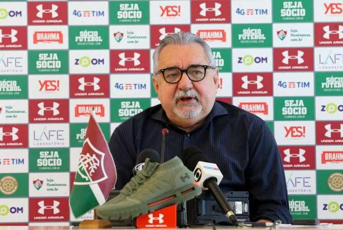Diretor de futebol do time tricolor, Paulo Angioni intensifica as negociações para fechar contratações