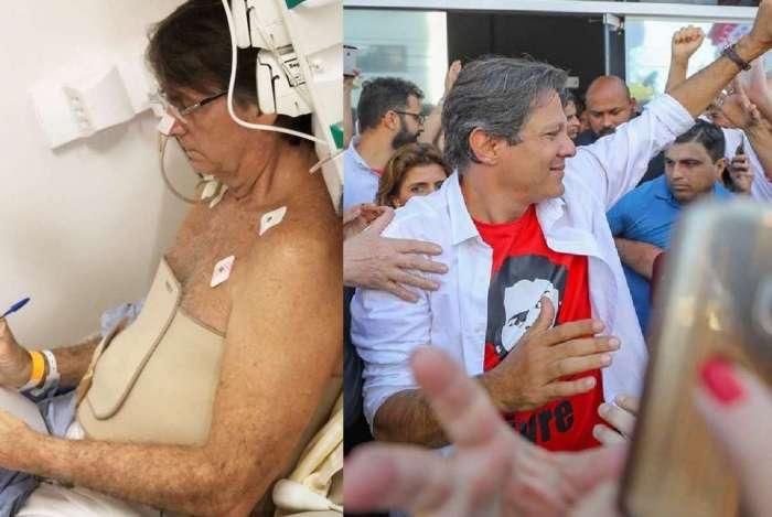 Ibope: Jair Bolsonaro (PSL) estabiliza em 28% das intenções de voto; Fernando Haddad (PT) cresce três pontos e vai a 22%