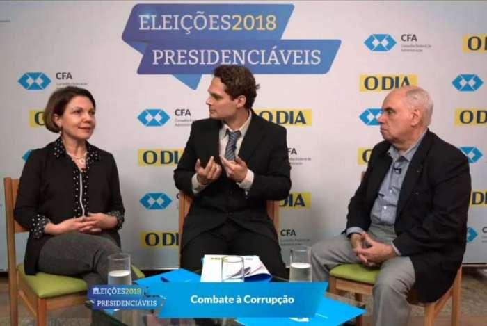 Silvana Batini e Wagner Siqueira, com Paulo Capelli ao centro