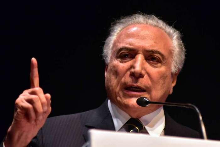 Temer assinou decreto que cria força-tarefa para atuar no combate ao crime organizada