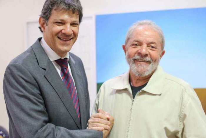 Haddad encabeçou a chapa petista após registro da candidatura de Lula ser negado pelo TSE
