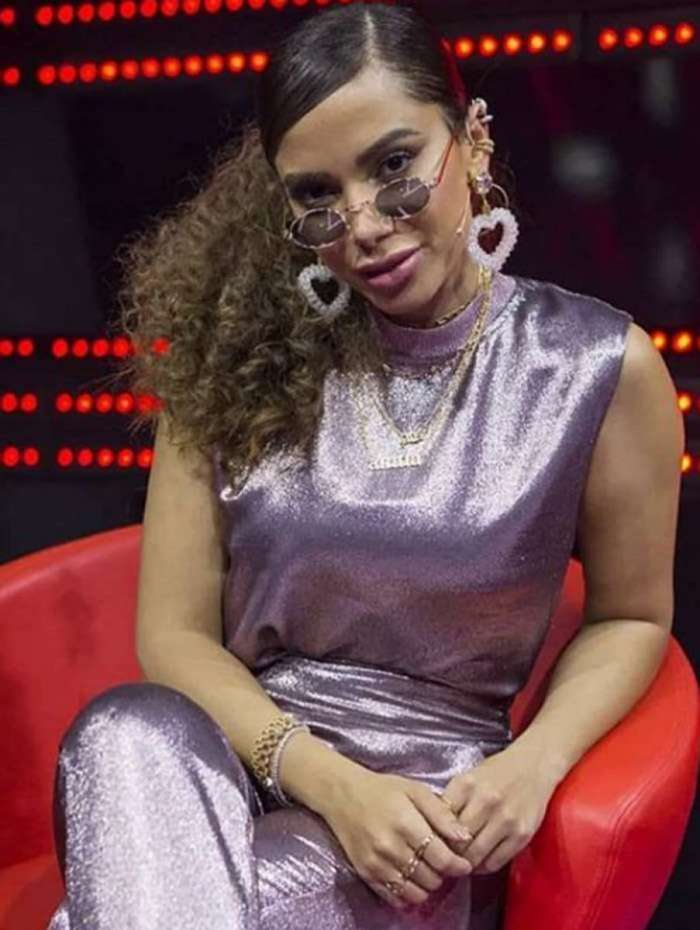 Anitta participa do 'The Voice Brasil'