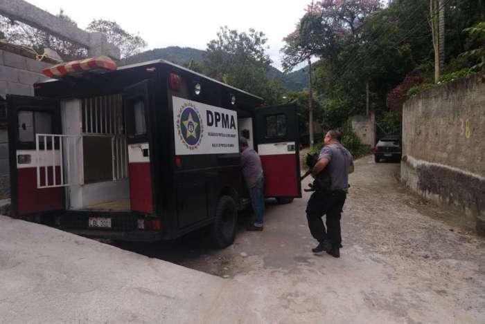 Animais foram resgatados por agentes da Delegacia de Proteção ao Meio Ambiente (DPMA)