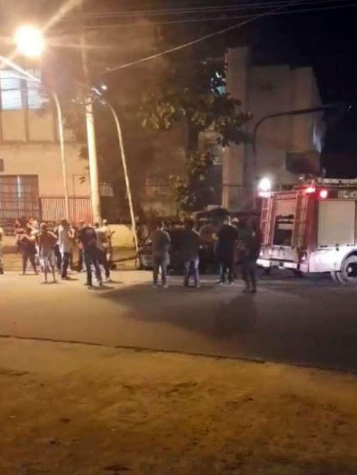Celta e van colidiram na Avenida Cesário de Melo