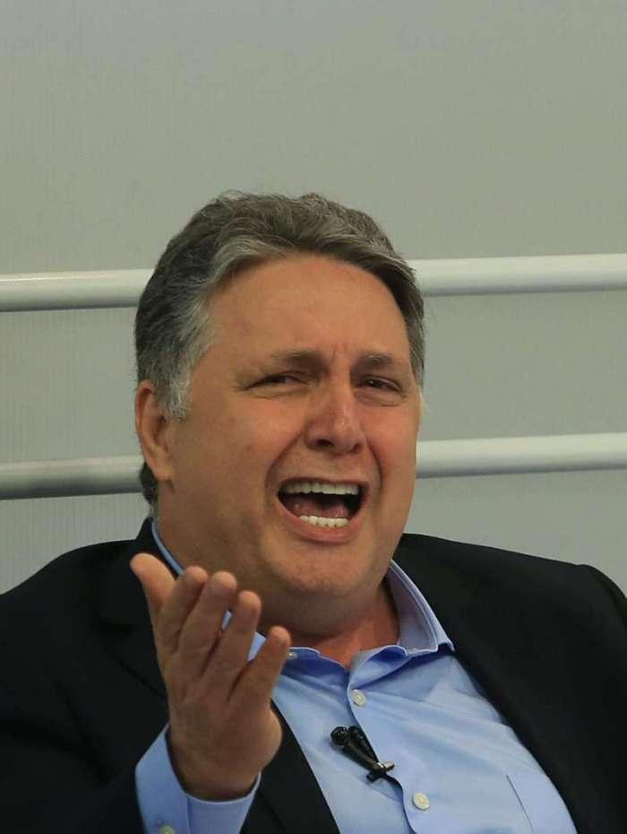 O político Anthony Garotinho (PRP) que está em campanha para o Governo do Estado do Rio de Janeiro. Foto: Daniel Castelo Branco / Agência O Dia