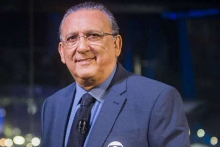 Galvão Bueno curtiu a festa da Globo em alto estilo