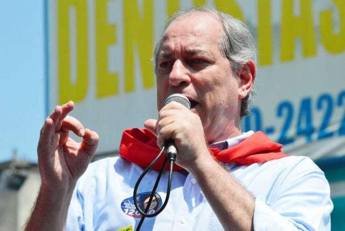 Candidato à Presidência da República, Ciro Gomes (PDT), faz campanha em Madureira na segunda-feira