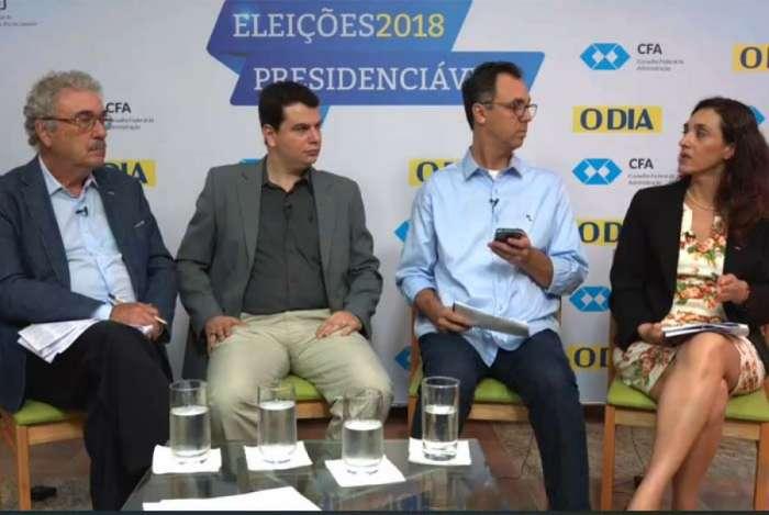 Especialistas discutem propostas para geração de empregos de presidenciáveis em debate do DIA em parceria com a CFA