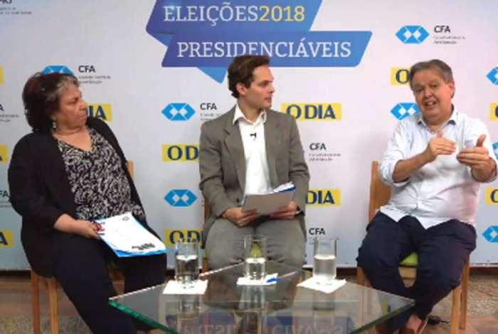 Último debate promovido pelo DIA e CFA discutiu o tema Gestão proposto por presidenciáveis