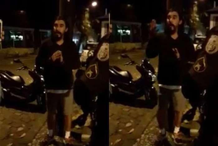 André Gonçalves é preso por desacato no Rio