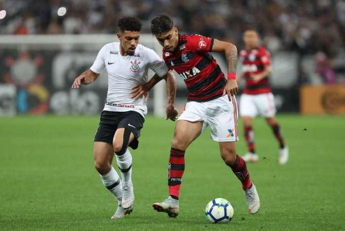 Flamengo foi derrotado pelo Corinthians em São Paulo