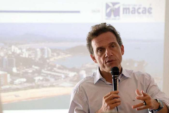 O prefeito de Macaé, Doutor Aluízio, quer que a cidade se torne centro de referência em tratamento oncológico
