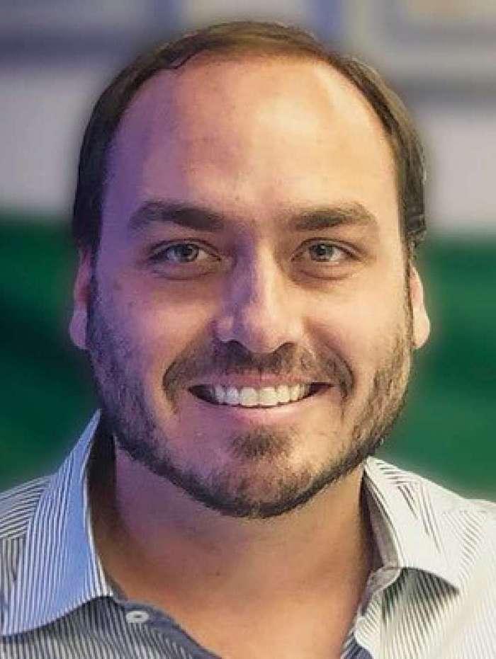 O vereador Carlos Bolsonaro