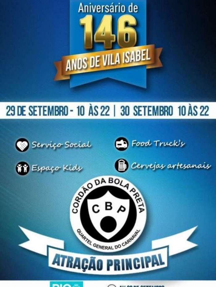 Festa em Vila Isabel oferece música e serviços sociais gratuitos