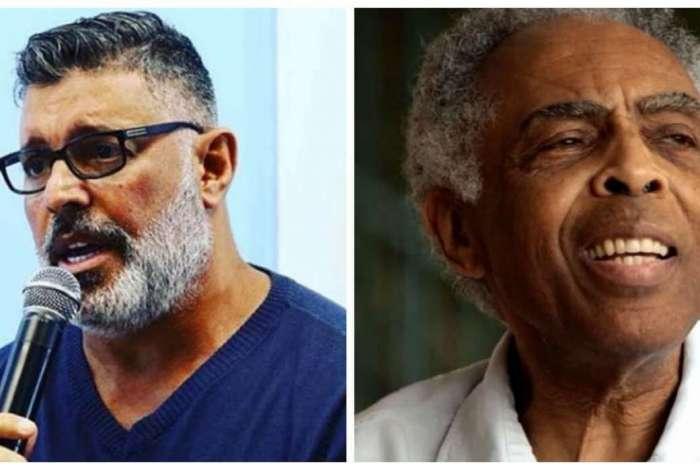 Alexandre Frota e Gilberto Gil