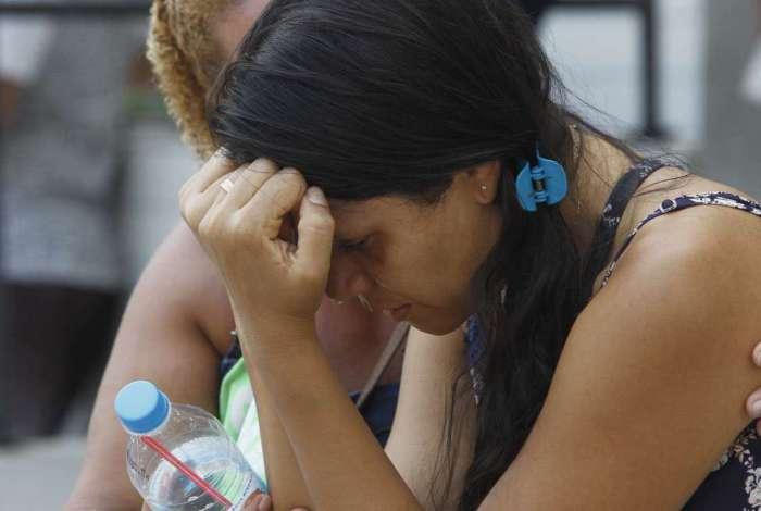 Conceição Vera dos Santos, esposa do Francisco Vilamar Peres, assassinado na frente do filho no Rio Comprido