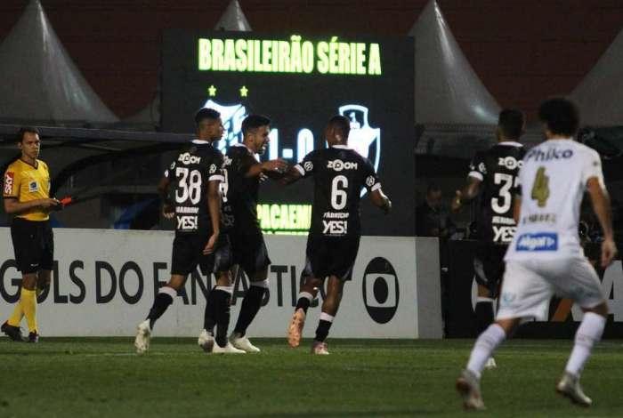 Vasco buscou o empate