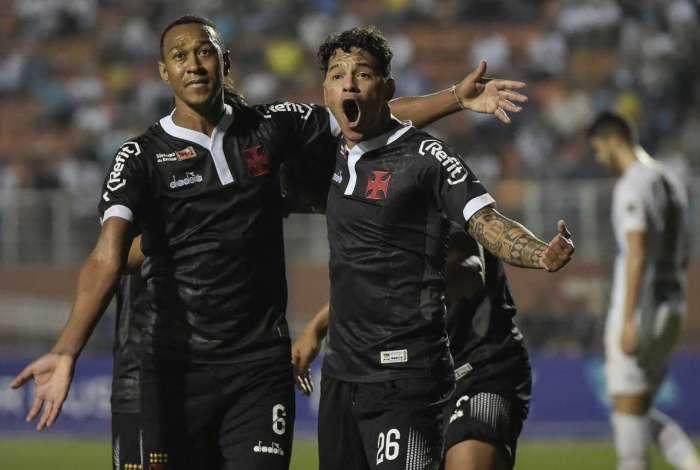 Vasco empatou com o Santos