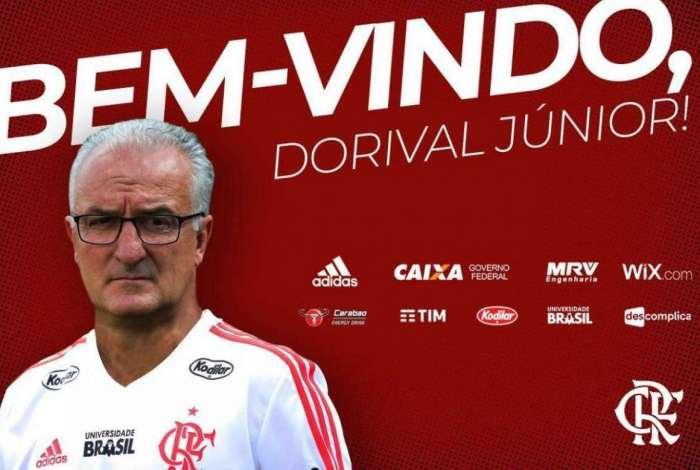 Dorival está de volta ao Flamengo