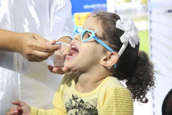Prefeitura alcança meta de vacinação contra sarampo e poliomelite