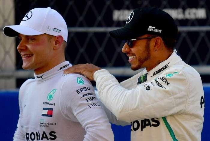 Bottas superou Hamilton