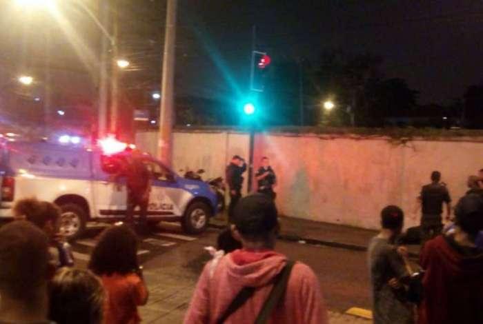 O caso aconteceu próximo à estação de Santa Luzia do BRT Transcarioca