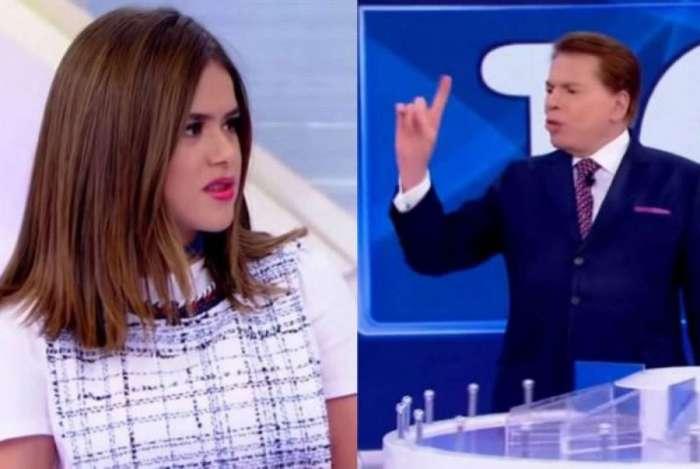Maisa Silva leva 'bronca' de Silvio Santos por citar Raul Gil