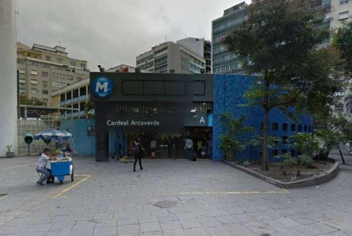 Incidente aconteceu na estação de metrô Cardeal Arcoverde