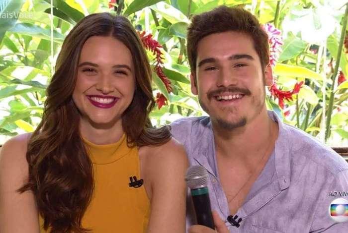 Juliana Paiva e Nicolas Prattes