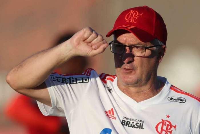 Técnico do Flamengo, Dorival Júnior falou sobre Lucas Paquetá