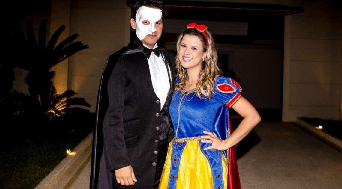 Jornalista Dony de Nuccio e a mulher, Larissa Laibida