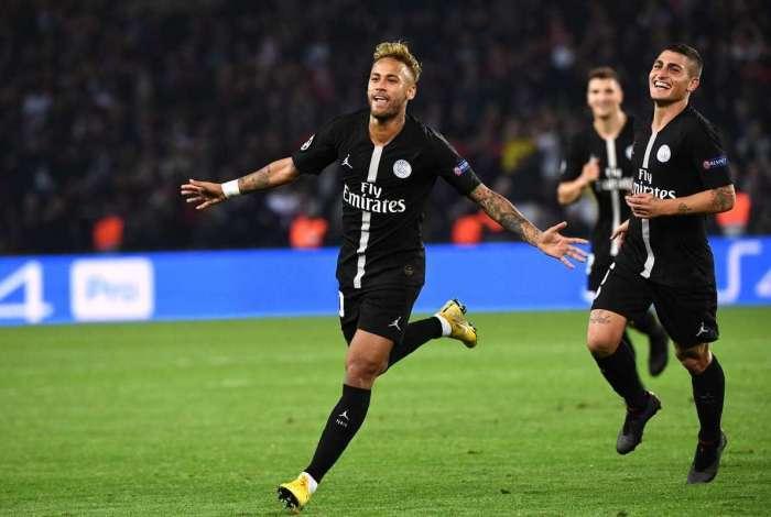 Neymar está no top 20 de artilheiros do PSG