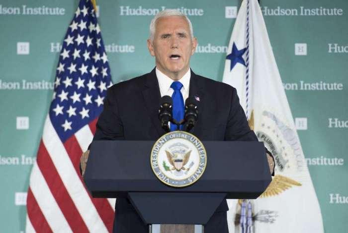 Vice presidente dos EUA, Mike Pence
