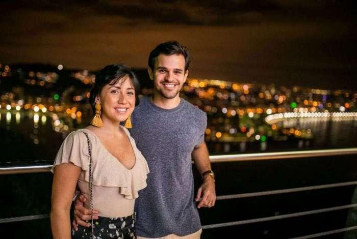 Linda Rojas e o marido Caio Barreto lançaram o blog 'Linda Janela' para falar sobre o câncer de mama
