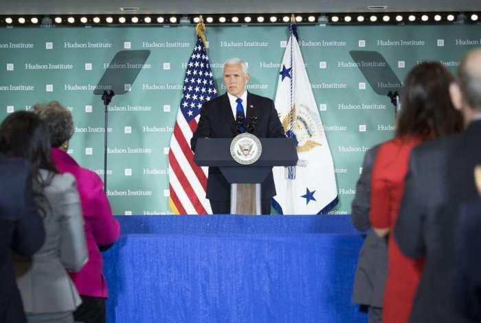 Vice Presidente dos Estados Unidos Mike Pence