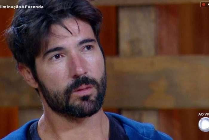 Sandro Pedroso é eliminado de 'A Fazenda'