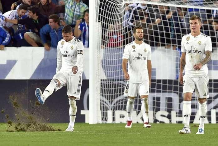 Real Madrid perdeu para o modesto Alavés