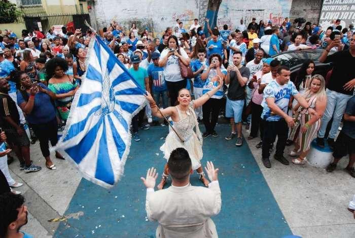 Festa na quadra da Portela teve a definição do samba de 2019