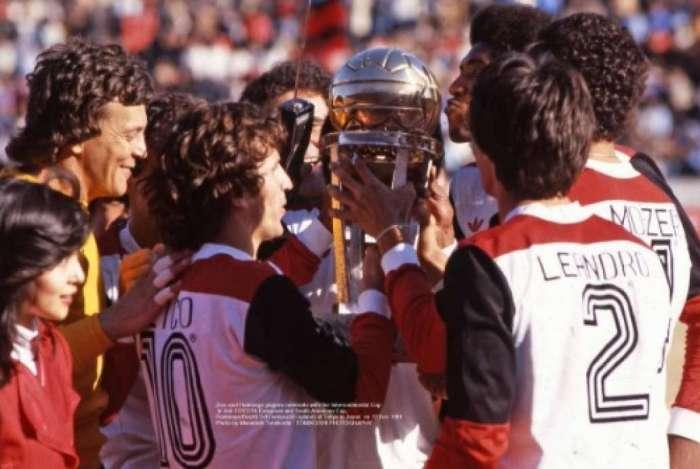 Imagens inéditas do Flamengo campeão mundial de 1981
