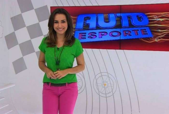 Millena Machado saiu da apresentação do 'Auto Esporte'