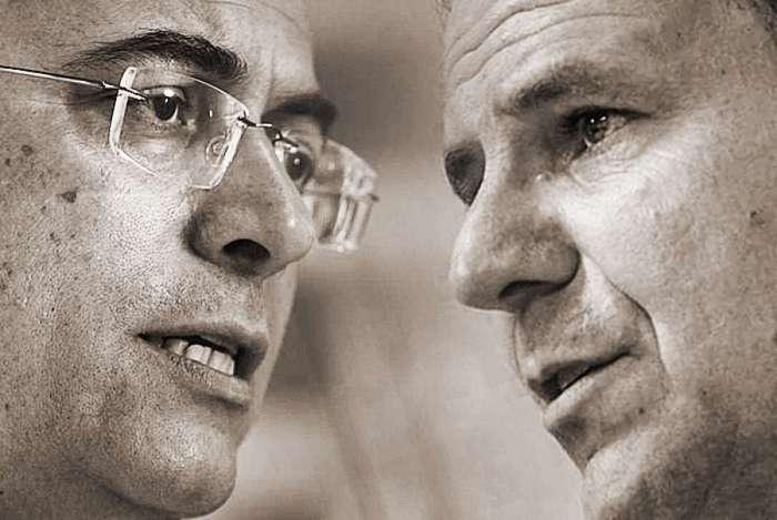 Candidato do PSC, Wilson Witzel, e do DEM, Eduardo Paes, concorrem ao governo estadual no segundo turno