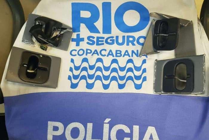 Rio+Seguro apreende chupa-cabras em Copacabana